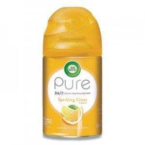 Air Wick Freshmatic Ultra Automatic Pure Refill, Sparkling Citrus, 5.89 oz, 6/Carton RAC98864 62338-98864