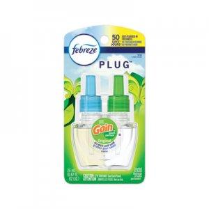 Febreze PLUG Air Freshener Refills, Gain Original, 0.87 oz, 6/Carton PGC74903 74903