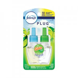 Febreze PLUG Air Freshener Refills, Gain Original, 0.87 oz PGC74903EA 74903EA