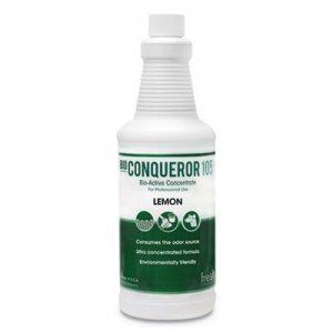 Fresh Products Bio Conqueror 105 Enzymatic Odor Counteractant Concentrate, Citrus, 32 oz, 12/Carton FRS1232BWBCT 105Q-F-000I012M-10
