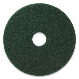 "Americo Scrubbing Pads, 14"" Diameter, Green, 5/CT AMF400314 400314"