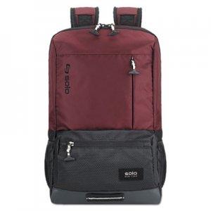 """Solo Draft Backpack, 6.25"""" x 18.12"""" x 18.12"""", Nylon, Burgundy USLVAR70160 VAR701-60"""