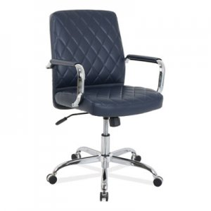 kathy ireland OFFICE by Alera kathy ireland OFFICE by Alera Nebulous Mid-Back Diamond-Embossed Leather Chair, Up to 275