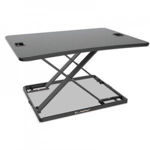 "Alera AdaptivErgo Ultra-Slim Sit-Stand Desk, 31.33"" x 22"" x 15.75"", Black ALEAEWR6B AE1SPLR"