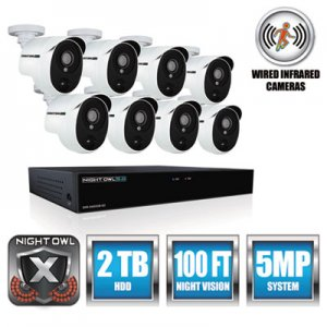 Night Owl 8 Channel Extreme HD Video Security DVR, 5MP Resolution NGTXHD50288PB XHD502-88P-B