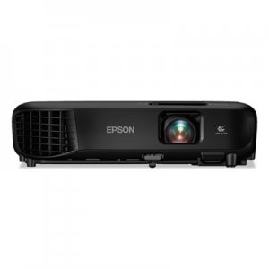 Epson PowerLite 1266 Wireless 3LCD Projector, 3600 lm, 1280 x 800 Pixels, 1.2x Zoom EPSV11H845120 V11H845120