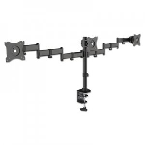 Kantek Articulating Multiple Monitor Arms for Three Monitors, Desk Mount KTKMA230 MA230