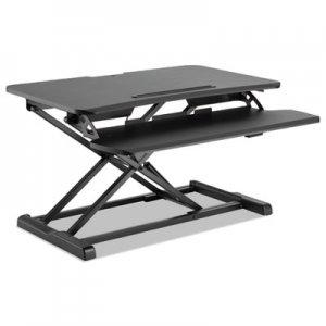 Alera AdaptivErgo Sit-Stand Workstation, 31.5w x 26.13d x 19.88h, Black ALEAEWR3B AEWR3B