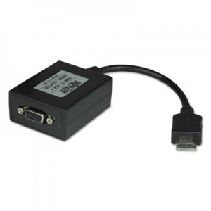 "Tripp Lite HDMI to VGA with Audio Converter Cable, 1920 x 1200 (1080p), 6"" TRPP13106N P131-06N"