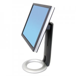 "Ergotron Neo-Flex LCD Stand for LCDs up to 24"", Black/Silver ERG33310060 33-310-060"