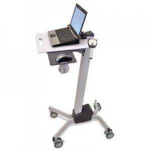 Ergotron Neo-Flex Laptop Cart, 20w x 28.88d x 26.63 to 46.63h, Two-Tone Gray ERG24205214 24