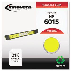 Innovera Remanufactured Yellow Toner, Replacement for HP 824A (CB382A), 21,000 Page-Yield IVRB382A