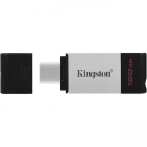 Kingston DataTraveler 80 128GB USB 3.2 (Gen 1) Type C Flash Drive DT80/128GB