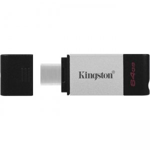 Kingston DataTraveler 80 64GB USB 3.2 (Gen 1) Type C Flash Drive DT80/64GB