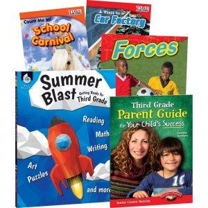 Shell Education Learn-At-Home Grade 3 Summer Bundle 51667 SHL51667