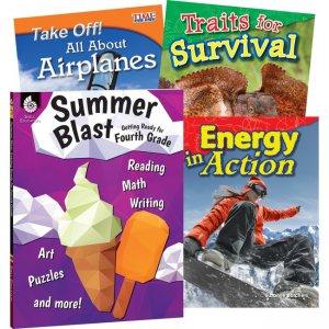Shell Education Learn-At-Home Grade 4 Summer STEM Set 51674 SHL51674
