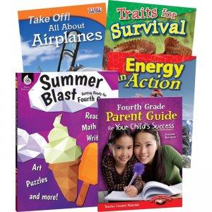 Shell Education Learn-At-Home Grade 4 Summer Bundle 51668 SHL51668