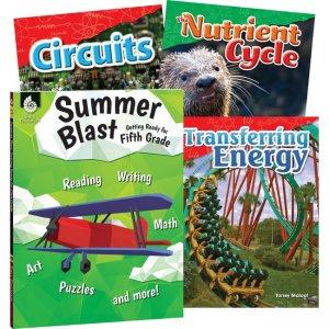 Shell Education Learn-At-Home Grade 5 Summer STEM Set 51675 SHL51675