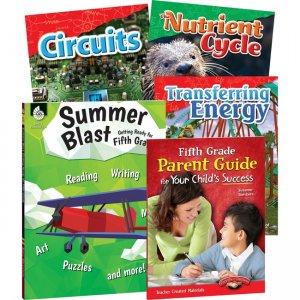 Shell Education Learn-At-Home Grade 5 Summer Bundle 51669 SHL51669