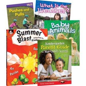 Shell Education Learn-At-Home Grade K Summer Bundle 51664 SHL51664