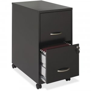 Hirsh File Cabinet with Caster Kit - 2-Drawer 16293 HID16293