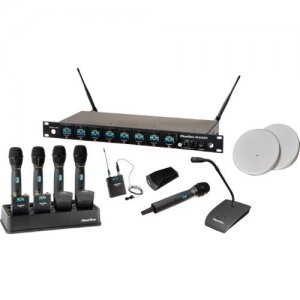 ClearOne 8-Channel Wireless Microphone System Receiver 910-6000-808-C WS880