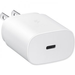 Samsung 25W USB-C Fast Charging Wall Charger, White EP-TA800XWEGUS