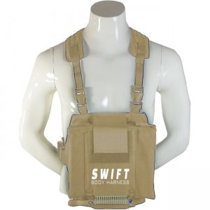 Ergoguys Swift Platform Body Harness for Laptop and Tablets, 28 to 34 Inch Waist, Sand SBPLH-28-34