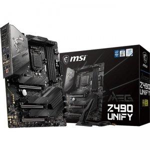 MSI MEG Desktop Motherboard Z490UNIFY Z490 UNIFY