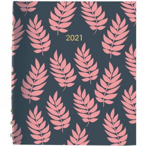 Rediform Coral Leaf Weekly/Monthly Planner CF3409002 REDCF3409002