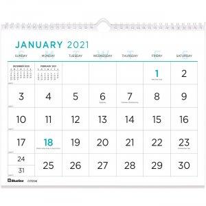 Rediform Large Print Wall Calendar C172106 REDC172106