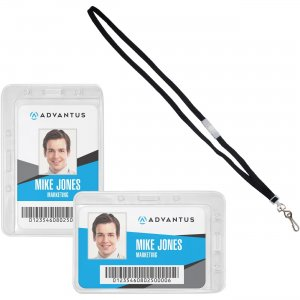 Advantus Antimicrobial ID & Security Pack 75699 AVT75699