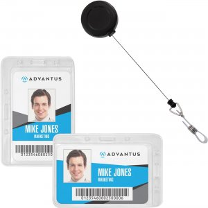 Advantus Antimicrobial ID & Security Pack 76096 AVT76096