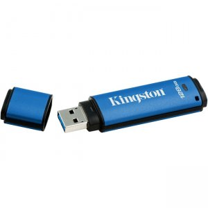Kingston DataTraveler Vault Privacy 3.0 128GB USB 3.0 Flash Drive DTVP30/128GB