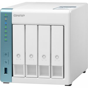 QNAP Quad-core 1.7GHz NAS with 2.5GbE and Feature-rich Applications for Home & Office TS-431P3-4G-US