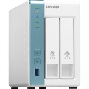 QNAP Quad-core 1.7GHz NAS with 2.5GbE and Feature-rich Applications for Home & Office TS-231P3-4G-US