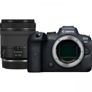 Canon EOS Mirrorless Camera with Lens 4082C012 R6