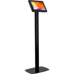 CTA Digital Premium Thin Profile Floor stand with Security Enclosure (Black) PAD-CHKB