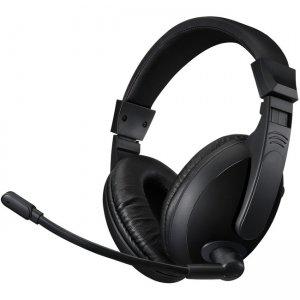 Adesso Stereo USB Multimedia Headphone/Headset with Microphone XTREAM H5U