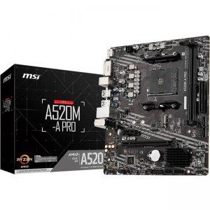 MSI Desktop Motherboard A520MAPRO A520M-A PRO