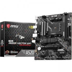 MSI MAG Desktop Motherboard A520VECTWIFI A520M VECTOR WIFI