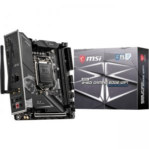 MSI MPG Desktop Motherboard B460IEDGEWIFI B460I GAMING EDGE WIFI