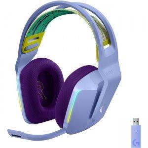 Logitech Lightspeed Wireless RGB Gaming Headset 981-000889 G733