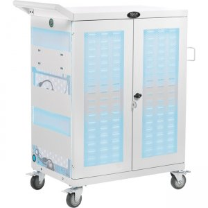Tripp Lite Hospital-Grade 32-Device UV Charging Cart, White CSC32ACWHG
