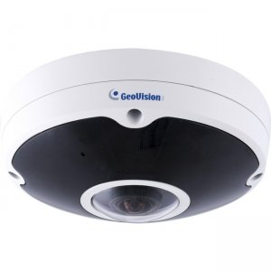 GeoVision 12MP H.265 Low Lux WDR IR Fisheye Rugged IP Camera GV-FER12700