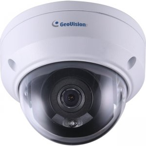 GeoVision 4MP H.265 Low Lux WDR Pro IR Mini Fixed Rugged IP Dome GV-TDR4700-1F