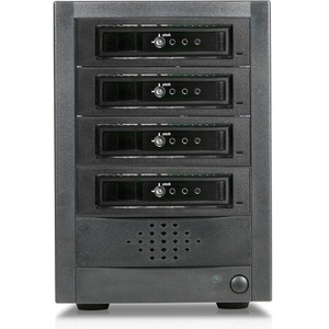 RAIDage 4-bay SAS/SATA 12Gb/s SFF-8644 Hotswap JBOD Enclosure JAGE5BT4-T7DE