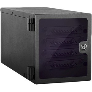 "RAIDage 4-bay 2.5"" SAS/SATA 12Gb/s SFF-8643 Hotswap JBOD Enclosure JAGE4BT4HD-TG"