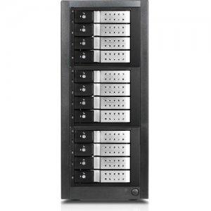RAIDage 12-bay SAS/SATA 12Gb/s SFF-8644 Trayless Hotswap JBOD Enclosure JAGE9BT12HDSL-DE