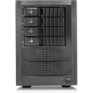 RAIDage 4-bay SAS/SATA 12Gb/s SFF-8644 Trayless Hotswap JBOD Enclosure JAGE5BT4HDBK-DE-SEA